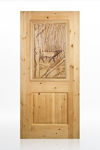 Bull-Moose Design Door