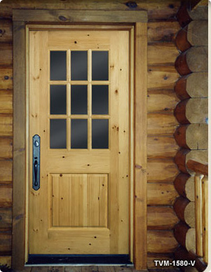 Custom Exterior Wood Doors | Wood Panel & Glass Doors | Timber ...