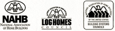 Member Of NAHB, Log Homes Council