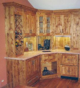Custom Wood Cabinet