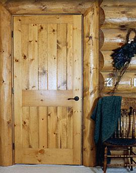 Custom Exterior Wood Door