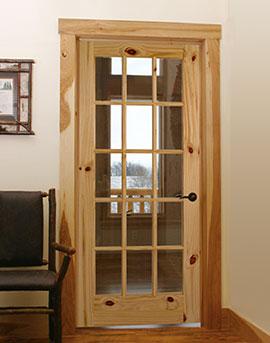 Custom Interior Wood Door
