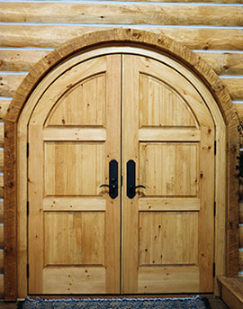 Custom Wood Door Design