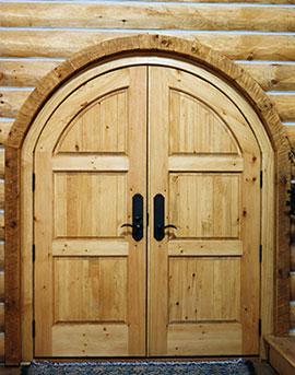 Custom Wood Door Design