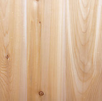 Knotty Cedar Unfinished