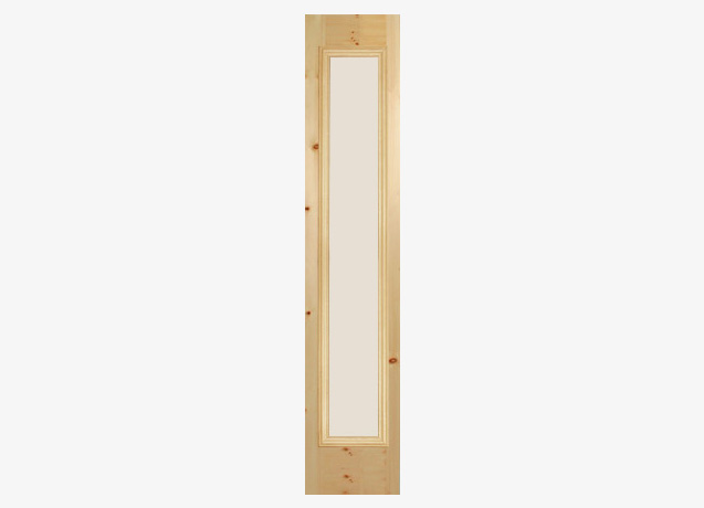 Full Side Lite Glass Door