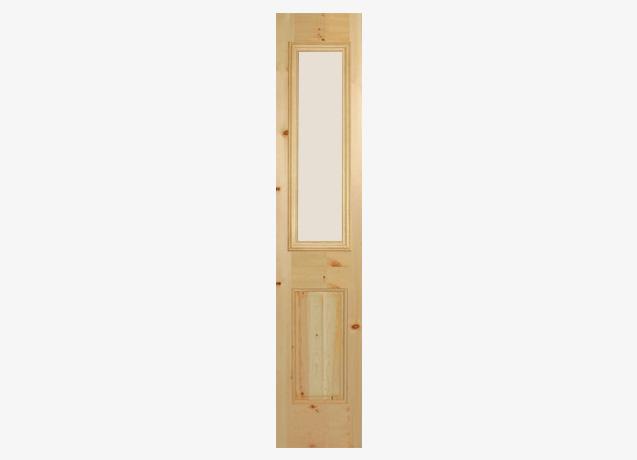 1/2 Side Lite Glass Door