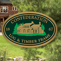Confederation Log and Timber Frame